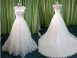 Factory Wholesale Price Tulle with Lace Beads Mermaid Wedding Dresses