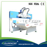 Professional 4 Axis Multi Head CNC Router Machine Woodworking