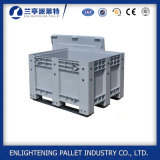 Heavy Duty Colorful Large Collapsible Plastic Pallet Box with Lid