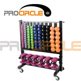 Crossfit Gym Equipment High Quality Storage Dumbbell Rack (PC-DR1004)