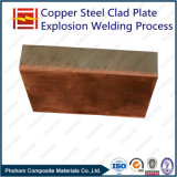 C11000 T2 Copper Q345D Steel Clad Plate with Explosion Welding Process