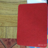 Fashionable Red Felt PVC Flooring