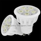 580lm, 50*55mm Halogen Shape LED GU10 Spot Light