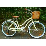 Lady Model Beach Cruiser with Shimano 7 Speed