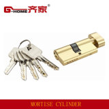 Euro Profile Brass Door Lock Cylinder (S75SB)