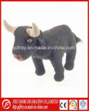Black Soft Stuffed Bull Toy for Baby Product