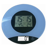 Electronic Glass Kitchen Scale with Selectable Backilght (AV-805)