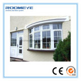 Roomeye 3 Panel Triple White PVC Casement/Side Hung/Side Hinged Windows