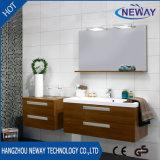 Melamine Modern Bathroom Furniture Cabinet with Mirror