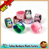 Custom Silicone Thumb Ring Bracelet Finger Ring (TH-zh001)