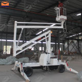 CE Articulated Hydraulic Lift Platform Truck