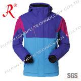 Waterproof Outdoor Tech Jacket with Hood (QF-669)