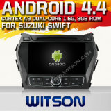 Witson Android 4.4 System Car DVD for Hyundai IX45 (W2-A7056)