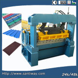 Step Tile Cold Roll Forming Machine Made in China