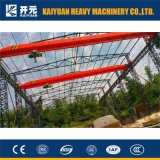 1 Ton Elecric Hoist Single Girder Overhead Crane for Users
