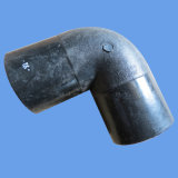 ISO4427 Standard HDPE Butt Fusion 90 Elbow for Water Supply