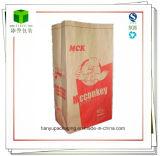 Flat Bottom Fried Chicken Food Grade Paper Bag