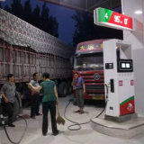 Petrol Pump of Double Pump and Four LCD Displays (conbination of self-priming and submersible pump) for Promotion