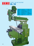 Easy to Operate Universal Mini Vertical Turret Milling Machine 3s with CE Standard