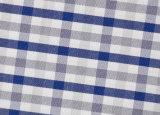 Grey/Navy Checks Comfortable Yarn Dyed Fabric Shirting