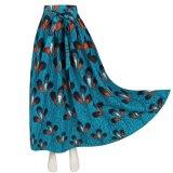 Custom Wholesale 2018 Latest Design African Print Long Skirts