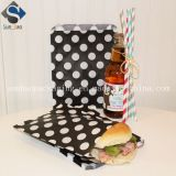 Ex-Work Kraft Hamburger Packaging Bags for Easy Take out