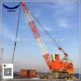 Haoyo Port Tyre Mobile Crane with Grab Bucket