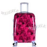 Hot Sale Maroon Fashion Good Quality PC Luggage