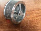 Spring Single Disc Stainless Steel Non Return Wafer Check Valve