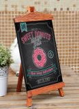 Antique Colour One Side Wood Frame Chalkboard for Decorate
