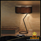 Steel Desk Light with Fabric Shade (6904-3B)
