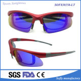 Factory Supply Fashion Design Polarized Sports Safety Sunglasses for Women