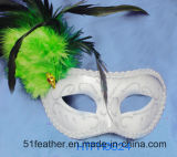 Muliti-Color Amazing Personal Decoration Party Turkey/Ostrich Feather Mask