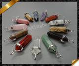 Wholesale Pendants Necklace Jewelry, Gemstone Silver Pendant (YAD010)
