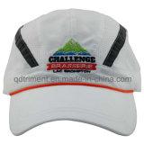 Reflective Stripe Peach-Skin Microfiber Embroidery Sport Racing Cap (DOCR0126)