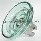 U120B Standard Suspension Toughened Glass Insulators