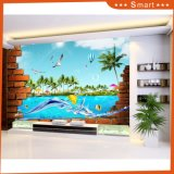3D Home Decoration Oil Painting with Animals Photos