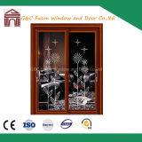 Wood-Finish Aluminium Grand Sliding Door (FX-15061)