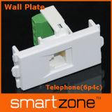 Telephone Rj11 Wall Plate/Module/Faceplate (9.1137)