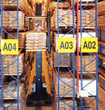 Vna Pallet Racking for Warehouse with Narrow Aisles