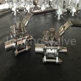 Stainless Steel Sanitary High Pressure Three Piece Ball Valve