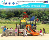 Children Play Outdoor Boat Model Playground Equipment (HA-05501)