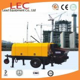 Remote Control Korea Diesel Trailer Concrete Pump Used