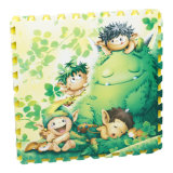Factory Direct Sale Waterproof Tatami Play Room Floor EVA Anti Slip Cartoon Mat