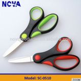 "Safety 5"" Scissors with Soft Grip Handle/ Colorfull Selling Scissors"