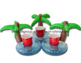 PVC Inflatable Coconut Palm Tree Water Toys Drink Coke Cup Holder Mobile Phone (CPCQ-002)