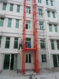 Fixed Guide Rail Hydraulic Lift Platform for Construction