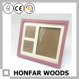 Colorful Solid Wood Baby Picture Photo Frame for Gift