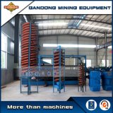 High Performance Gravity Machine Fiberglass Spiral Chute Separator