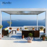 Sunshading Rainproof Louvered Patio Roof Pergola Gazebo